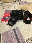 Canon EOS Rebel T3 digital Camera with 18 55mm Lens  Battery + Cards