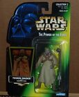 1996 Star Wars POTF Tusken Raider w Gaderffii Stick Green Card Collection 2