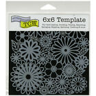 Crafters Workshop Template 6X6 Flower Frenzy
