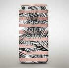 Be Your Own Queen Princess Royalty Girls Girly Quote Realising Phone Case Cover