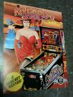 Williams RIVERBOAT GAMBLER Pinball flyer- good original