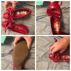 Limited Edition Kensie Girl Red Patent Leather Pumps with Bows 85