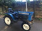 Iseki 4x4 Diesel Compact Tractor For Kubota Grass Topper Flail Mower