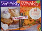 WEIGHT WATCHERS Weekly September 23 29 2012 and September 30 October 612