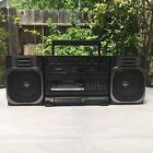SANYO Boombox M9100 Ghetto Blaster Radio Cassette Recorder w Detachable Speakers