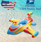 Airplane baby kids toddler inflatable pool Raft Seat Tube Float Ring PoolToy