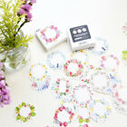 45pcs box Paper Floral Writable Packing Label For Baking Package Stickers Decor