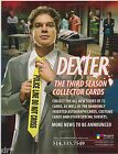 DEXTER SEASON 3 TRADING CARDS FACTORY SEALED BOX OF TRADING CARDS