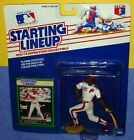 1989 PHIL BRADLEY Philadelphia Phillies Rookie - low s/h - sole Starting Lineup
