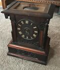 BEAUTIFUL ANTIQUE GERMAN BLACK FOREST MUSICAL CLOCK WITH MUSIC BOX RUNS