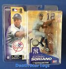 McFarlane MLB Alfonso Soriano Yankees Gray Jersey 100th Patch Variant Chase S5