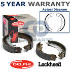 Rear Delphi Hand Brake Shoes For BMW 3 5 Series E46 E90 E91 E92 E93 E39 LS1857