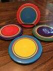 Dansk Caribe Set Of 4 Coasters 4 1/2