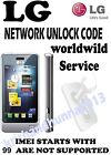 LG parmanent network unlock code for LG enV T Mobile UK