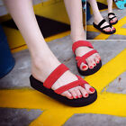 2017 New Women Fashion Casual Flat Sandals Summer Beach Shoes Open Toe Shoes