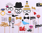 Wedding Bridal Shower Photo Booth Props DIY 31 Kit Party Decorations NEW