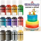 12 Color US Cake Supply by Chefmaster Airbrush Cake Color Set The 12 Most P