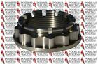 DUCATI MONSTER TITANIUM AXLE NUT SPROCKET SIDE SILVER S4R 796 800 1000 1100