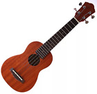 NEW Ibanez UKS10 Soprano Ukulele Open Pore Mahogany with Gig Bag