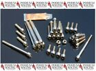 DUCATI TITANIUM ENGINE CASE BOLT KIT SILVER 749 999 S R (74 PC KIT)