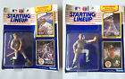 Lot (2) NEW NIB 1990 Starting Lineup Figures w/Cards Mark McGwire Jose Canseco