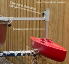 Streamlined Canoe Stabilizer Easy Clamp On Design Prevents Tipping Kayaks too