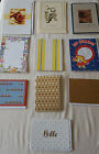 LOT 20 ASSORTED BLANK NOTE CARDS ENV30 each10 DIFF DESIGNS
