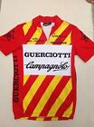 VINTAGE 1980S CAMPAGNOLO CYCLING RACE JERSEY GUERCIOTT MADE IN ITALY M S