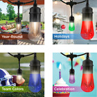 Enbrighten 36ft Vintage Seasons LED Color Changing Cafe/Patio Lights w/ Timer