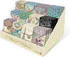 Punch Studio E7 Collection Decorative Pouch Note Cards Assorted Designs