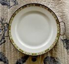 Antique White with Floral Pattern Porcelain Plate With Metal Plate Warmer, Rare!
