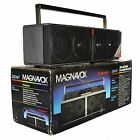 Magnavox D8347 Spatial Stereo BoomBox AM FM Tape Cassette Radio Vintage (AS IS)
