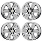 18 CHEVROLET TRAVERSE GMC ACADIA PVD CHROME WHEELS RIMS FACTORY OEM SET 4 5572