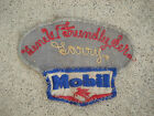 Vtg Service Station MOBIL OIL Gas Station Uniform Patch Attendant Name LARRY