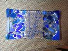 Fused Glass Art slightly slumped rectangle tray dish blue variety of color