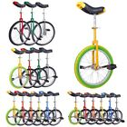 16 18 20 24 Unicycle Wheel Balance Uni Cycle Fun Bike Fitness Circus Cycling