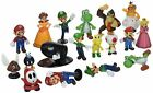 Super Mario Bros 18 pcs Action Figures Collection Set New Toy Doll Kid Sale Fast