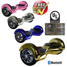 8 Electric LED Bluetooth Hoverboard Self Balancing Scooter UL2272 Certified