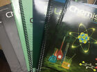 ABEKA 11th Grade High School Chemistry Student and Parent 6 Books EXCELLENT