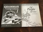 ABEKA NEW 7 th grade Grammar and Composition Of People Literature Keys