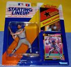 1992 HOWARD JOHNSON New York Mets HOJO - low s/h - final Starting Lineup