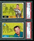 1968-69 O-Pee-Chee OPC complete set NM with 103 PSA graded cards