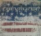 Chevrolet USA American Flag White T Shirt Size XL New With Tags