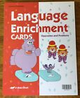 Abeka Language Enrichment Cards for Preschool  Kindergarten