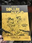 Gottlieb ROLLER DISCO Pinball Machine Manual - good used original