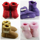 Baby Girl Boy Kids Snow Boots Warm Soft Shoes Pink Purple Brown Red 0 12Months