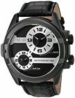 SO&CO New York  5209.1 Men's 'Madison' Quartz Metal and Leather Watch