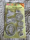 STAMPENDOUS Cling Rubber Stamps  Stencil HALLOWEEN STAMP SET NWT 20
