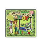 Disney Once Upon A Toy Story Die Cut premade Scrapbook Page Paper Piece