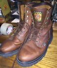 Justin Original Work Boots Mens Brown Work Shoes 9 W